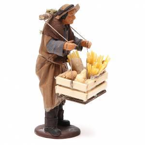 Man making pasta, Neapolitan Nativity figurine 14cm s4