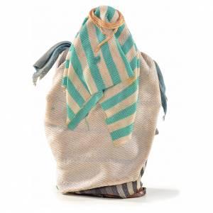 Marchand de tissus crèche Napolitaine 6 cm style arabe s2