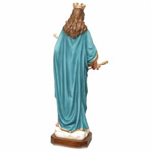 Mary Help of Christians statue in fiberglass 120cm s7