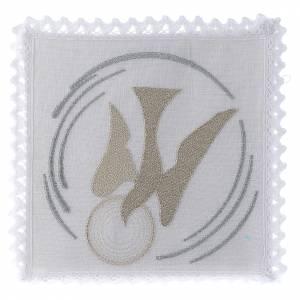 Altar linens: Mass linen set 100% linen dove