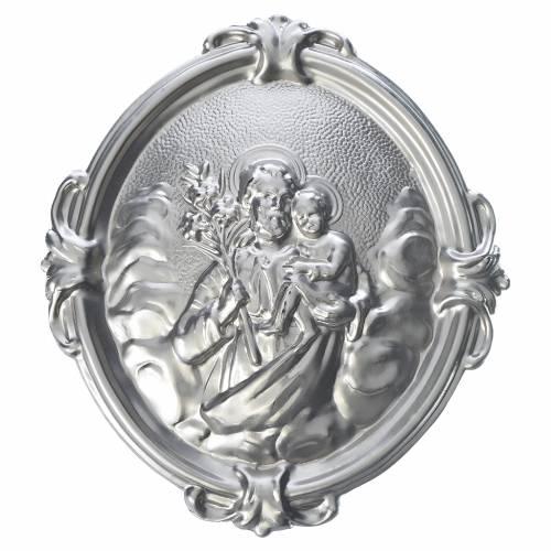 Medaglione confraternita immagine San Giuseppe s1