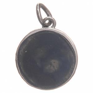 Médaille argent 800 Pape François 1,7 cm s2