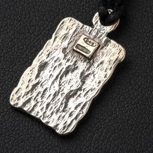 Médaille de Lourdes argent 800 s3