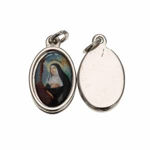 Médaille St Rita métal 1,5x1 cm s1