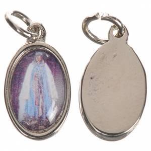 Medalla Santa Sara plateada 1,5 cm s1