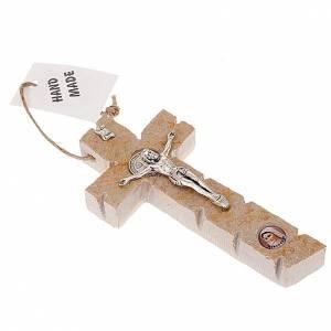 Medjugorje crucifix S. Benedict stone s1