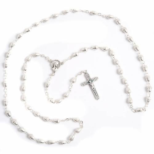 Metal acorn-beads rosary s1