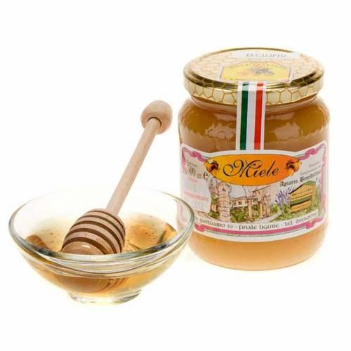 Miel à l'eucalyptus 500 gr de l'abbaye de Finalpia s1