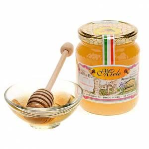 produits de la ruche: Miel à l'orange 500gr de l'abbaye Finalpia
