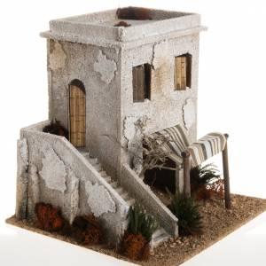 Ambientazioni, botteghe, case, pozzi: Minareto con scala ambientazione presepe