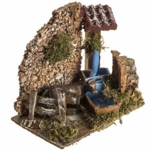 Mini fontaine avec boeuf milieucrèch e Noel s2