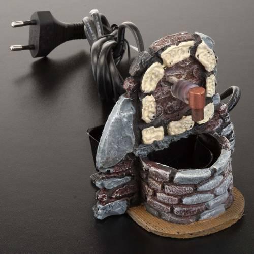 Mini fontaine avec pompe 9x7x10 s2