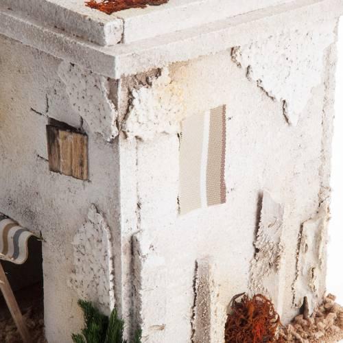 Mini maison arabe simple pour crèche Noel s4