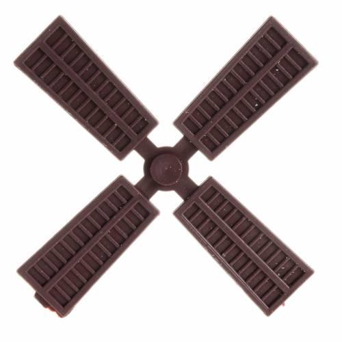 Mini pale pour moulin à vent 9 cm crèche s1