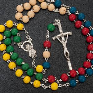 Wood rosaries: Missionary rosary