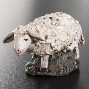 Mouton terre cuite crèche 18 cm s2