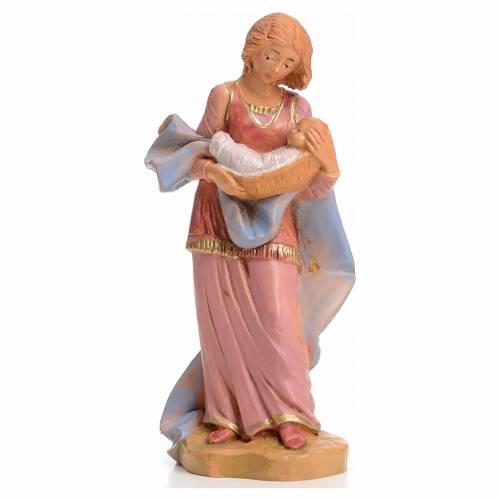 Mujer con bebe 12 cm Fontanini s1