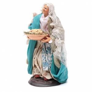 Mujer con huevos 18 cm. belén napolitano s2