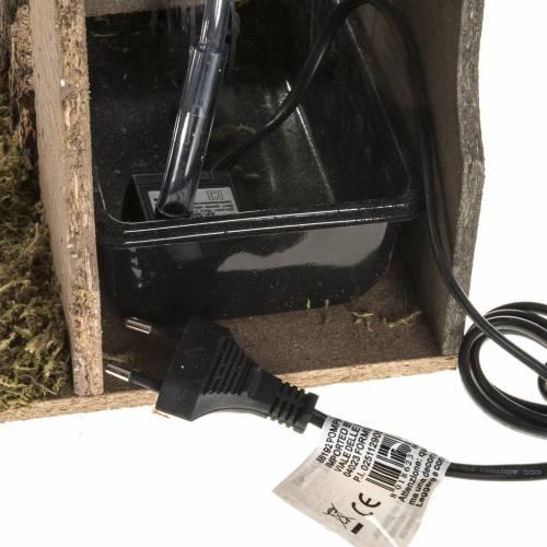 Mulino ad acqua presepe con sughero 2.5w s3