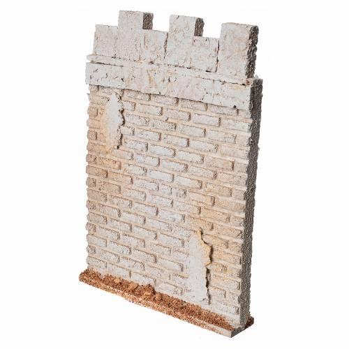 Mur d'enceinte de château en liège crèche s5