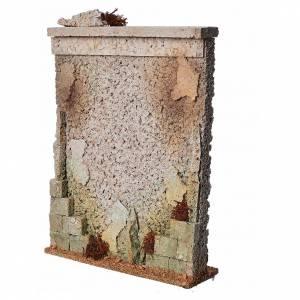 Muro di cinta presepe in sughero s2