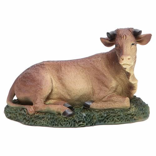 Natività 20 cm 3 pz resina con animali s5
