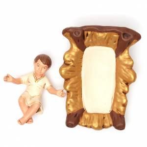 Natività Terracotta dipinta 30 cm 5 pz s5