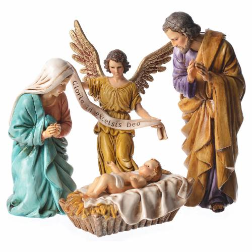 Nativité 13 cm crèche Moranduzzo 6 pcs s2