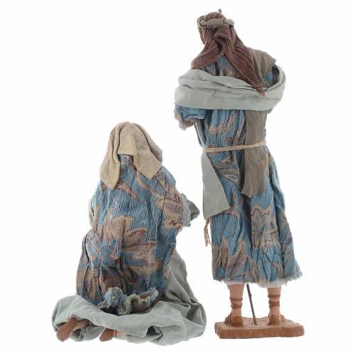 Nativité 42 cm style shabby s3