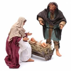 Nativité debout 24 cm crèche napolitaine s3