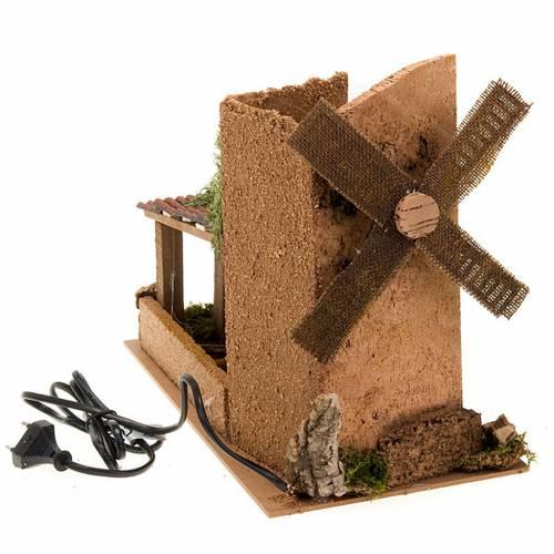 Nativity accessory, electric windmill 31x17x14 cm s2