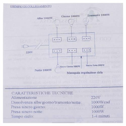 Nativity control unit 4+2 phases 1000W s6
