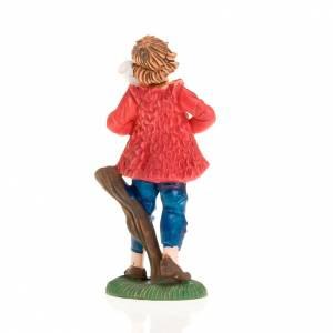 Nativity figurine, backpiper 8cm s2