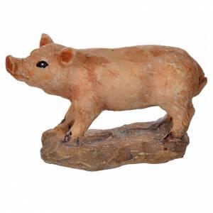 Nativity figurine, pig 8-10-12 cm s2
