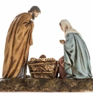 Nativity on base by Landi, 11 cm s4