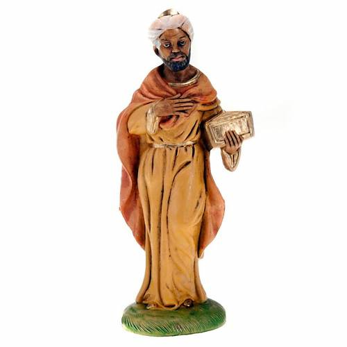 Nativity scene figurine, black Wise man 18cm 1