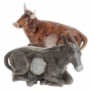 Nativity set accessories ox and ass 30cm s1