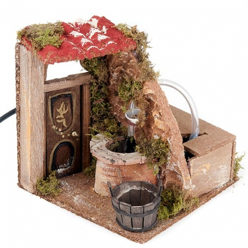 Nativity set accessory, Fountain with electrical pump s5