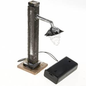 Nativity set accessory, metal street-lamp s3