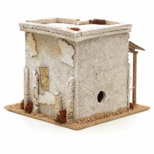 Nativity setting, Arabian house with carpenter workshop s4