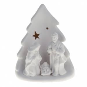 Nativity sets: Nativity with Christmas tree, led light