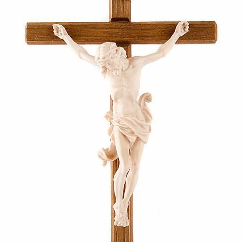 Natural ashwood crucifix s2
