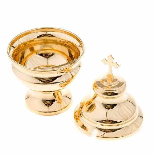 Navette à encensoir classique doré s3