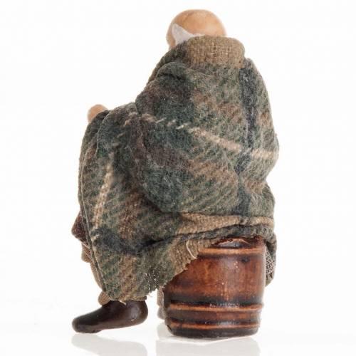 Neapolitan Nativity figurine, Old man 8cm s3