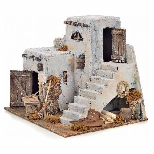 Neapolitan Nativity scene accessory, Arabian house 26x22x22 s3