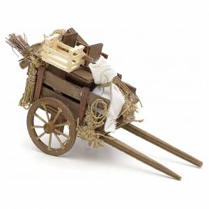 Neapolitan Nativity Scene: Neapolitan Nativity scene accessory, evicted cart