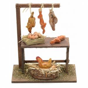 Neapolitan Nativity scene accessory, poultry shop s1