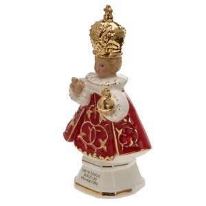 Niño Jesús de Praga cerámica 16 cm s3