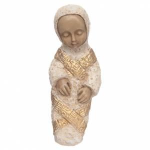 Pesebre Monasterio de Belén: Niño Jesús medio