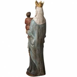 Notre Dame de Borguillon statue, 74 cm in painted wood, Bethlée s4